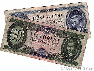 Old hungarian forint
