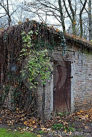 Old hut in Tiergarten, Berlin
