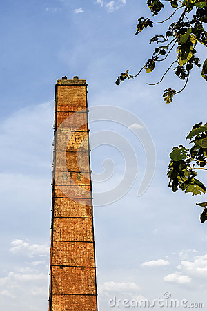 Free Old Industrial Chimney Stock Photos - 31176403