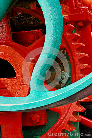 Old Industrial Machinery Sprocket