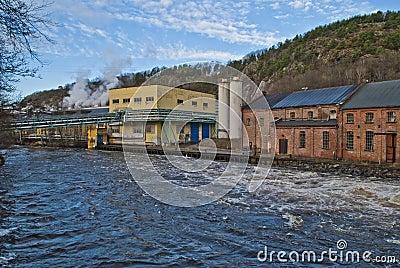Old industries in halden, ankers