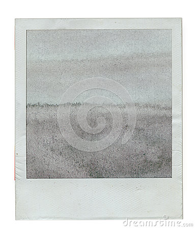 Old instant photo frame