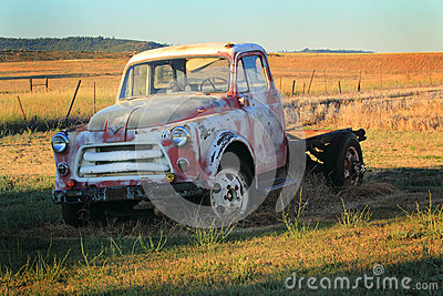 Old International Harvester Pickup