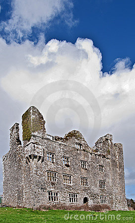 Old irish ancient irish castle,west of ireland