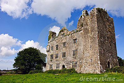 Old irish castle