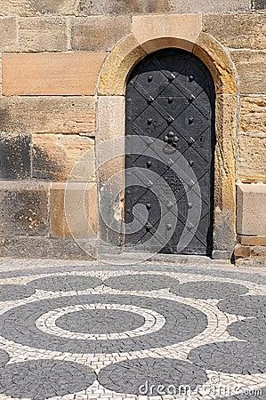 Old Iron Door