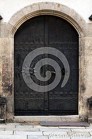 Old Iron doors
