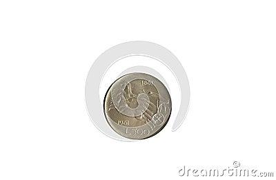 Old italian coin