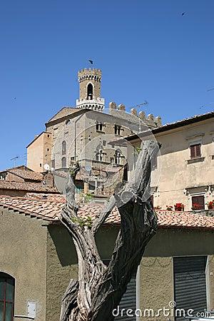 Old italian town Volterra