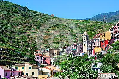 Old Italian village Manarola