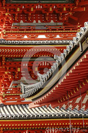 Free Old Japanese Architecture In Details Stock Image - 118577091