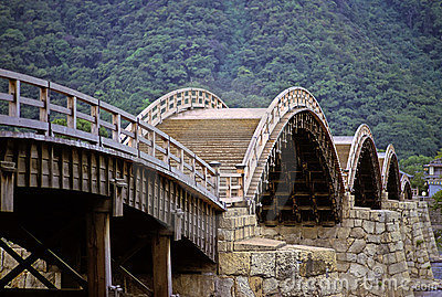 Old Japanese bridge