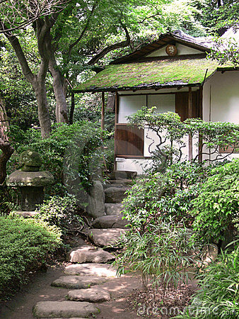 Old japanese tea house