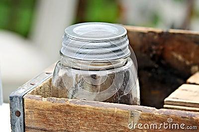 Old Jar in Box