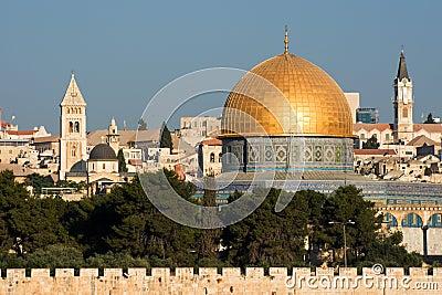 Old Jerusalem, Israel - Dome of the Rock