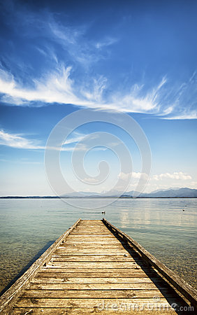 Free Old Jetty Stock Photography - 39796712