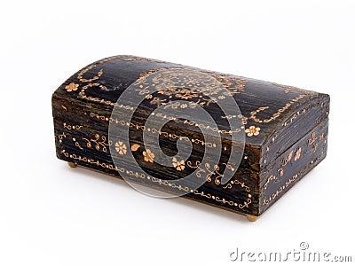 Old jewelry box