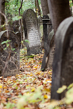 Free Old Jewish Cemetery Stock Photo - 23199890