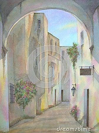 Free Old Jewish Quarter, Jerusalem Royalty Free Stock Image - 3112096