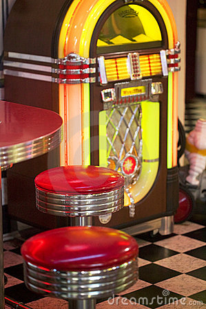Free Old Jukebox Royalty Free Stock Images - 9331199