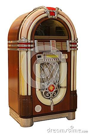 Free Old Jukebox Music Player Stock Photo - 20923460