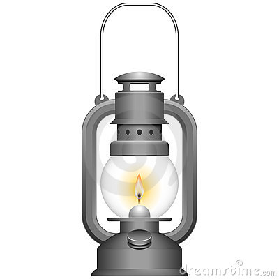 Free Old Kerosene Lamp Royalty Free Stock Photos - 20016518