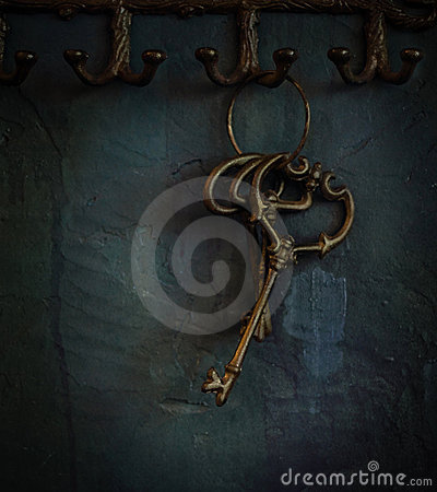 Free Old Keys Stock Images - 21976794
