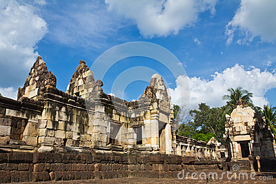 Old Khmer art sanctuary