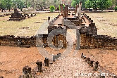 Old khmer ruins