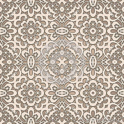 Free Old Lace Pattern Royalty Free Stock Photography - 33320447