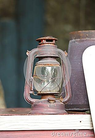 Old lamp, Hurricane lamp