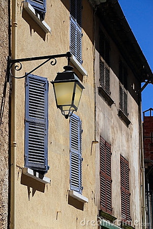 Free Old Lamp In Provence, France Royalty Free Stock Images - 15585719