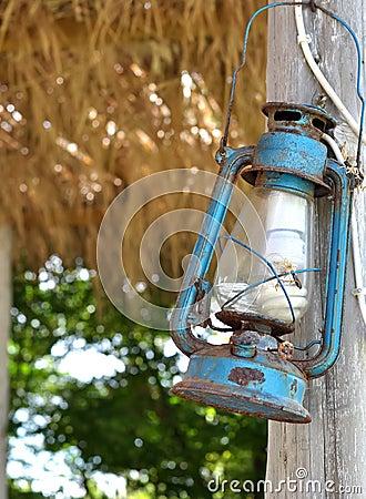An old lantern