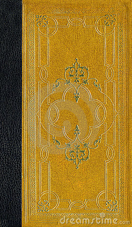 Old leather texture with decorative frame