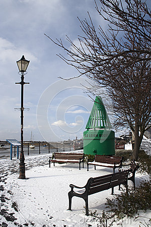 A winter s day at Leigh-on-Sea, Essex, England