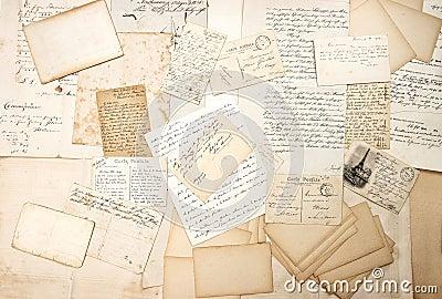vintage letters postcards photographs - photo #18