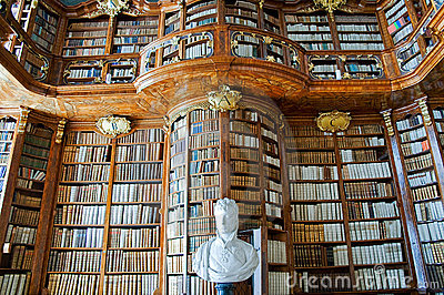 Old Library in an Abbey