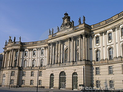 Old library of Berlin