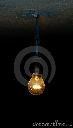 Free Old Light Bulb Royalty Free Stock Photo - 11275905