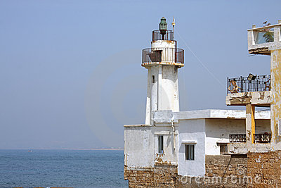 The old Lighthouse (Fanar) in Tyre, Lebanon