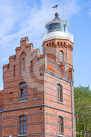Free Old Lighthouse In Ustka Stock Images - 54098374