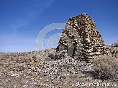 Old Limestone kiln in Northern Nevada