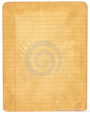 Lined Paper Royalty Free Stock Photos - Image: 3163558