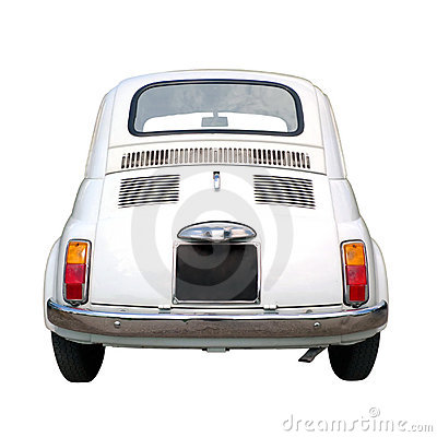 Old little car