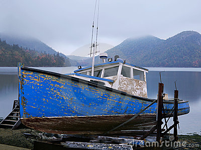 Old Lobster Boat