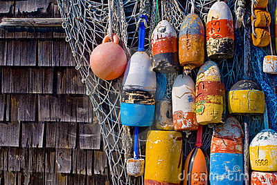 Old Lobster Buoys