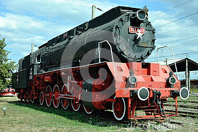 Old locomotive Editorial Stock Image
