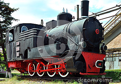 Old locomotive Editorial Image
