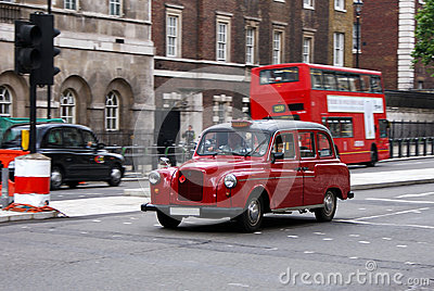 Old london Taxi