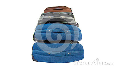 Old Luggage Bags III